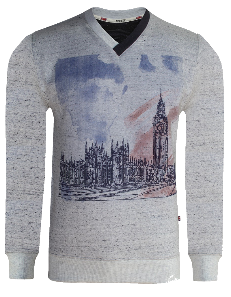 Big Ben Sweatshirt, Printed Sweat shirt