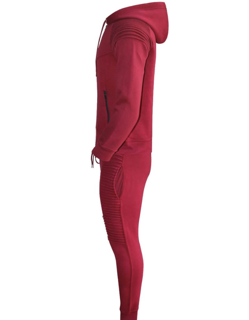 Red Tracksuit set, mens slim fit tracksuits