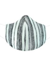 Womens stripes face mask